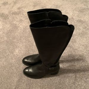 NWT Eric Michel leather riding boots